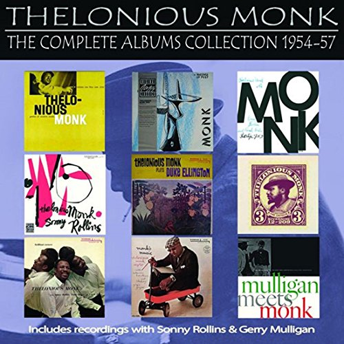 CD : Thelonious Monk - Complete Albums Collection: 1954-1957 (5 Disc)