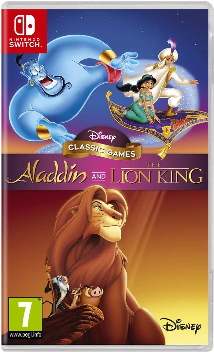 Disney Classic Games: Aladdin and the Lion King: Amazon.es ...