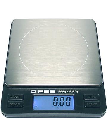 Dipse - Báscula digital de precisión para laboratorio, TP-500 x 0,01