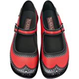 Hot Chocolate Design Chocolaticas Habana Carmine Women's Mary Jane Flat