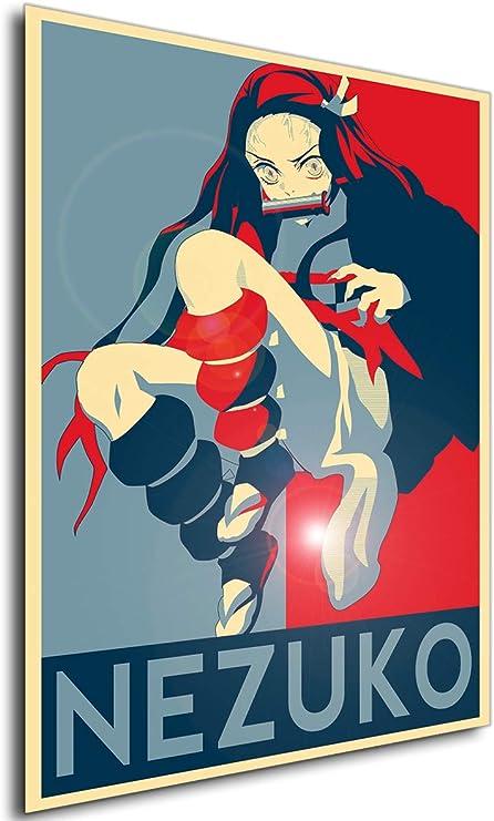 Kimetsu No Yaiba Demon Slayer Propaganda Tanjirou /& Nezuko Variant 2 A3 42x30 Instabuy Poster