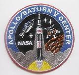 NASA APOLLO 11 SATURN V CENTER sew iron on Patch Badge Embroidery