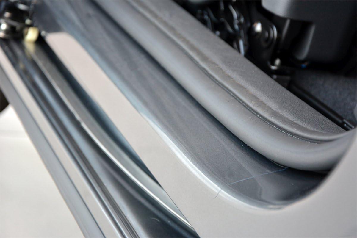 Unbekannt Einstiegsleisten Set Schutzfolie Transparent Extra Stark Auto