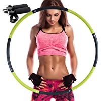 REDSEASONS Exercise Hoop for Adults,Lose Weight Fast by Fun Way to Workout,Easy to Spin, Premium Quality and Soft…