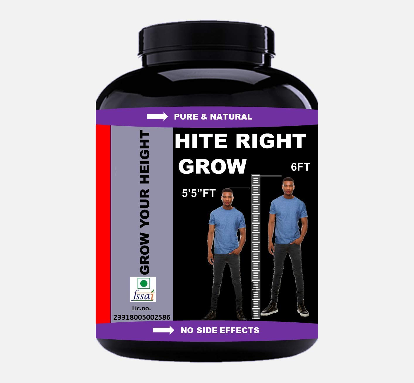 VITARA HEALTHCARE Hite Right Grow Height Growth Ayurvedic Medicine