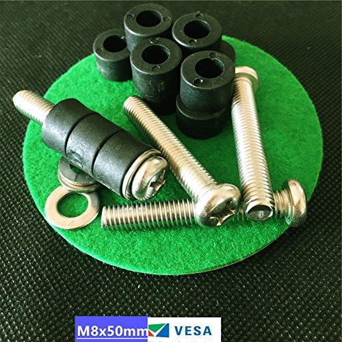 sesco-m8x50mm-long-tv-mount-screws-bolts-for-mount-41-larger-samsung-vizio-lg-sharp-sony-phlips-vesa