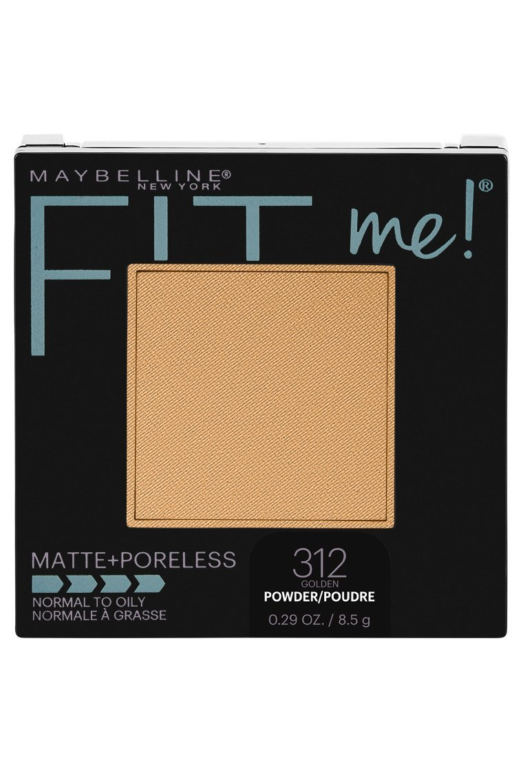 Maybelline New York Fit Me Matte + Poreless Powder Makeup, Golden, 0.29 Ounce, Pack of 1