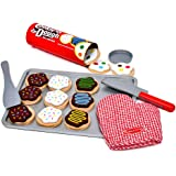 Melissa & Doug 4074 Slice and Bake Wooden Cookie Play Food Set