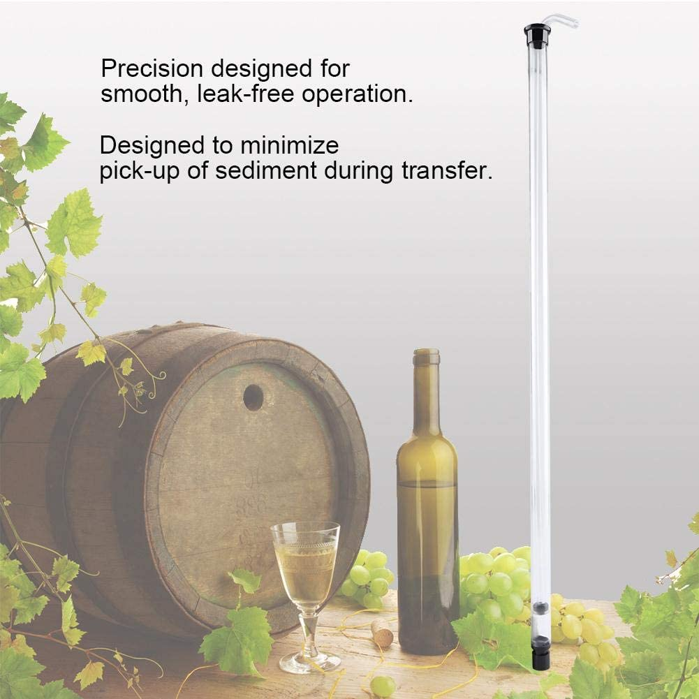 bar for Beer leak-free Simple to sanitize smooth Auto Siphon Racking Precision Siphon easy to use Siphon Racking Cane