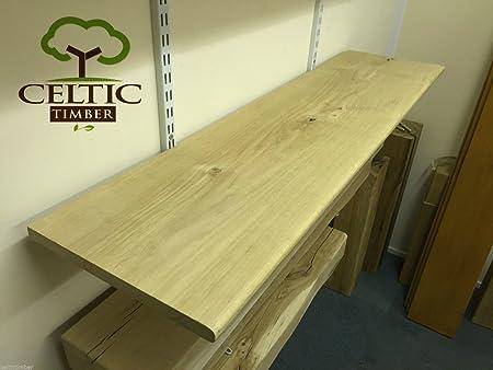 Solid Kiln Dried Wide Oak Shelves, Window Board Sills, Floating Shelf  Alcove by Celtic Timber