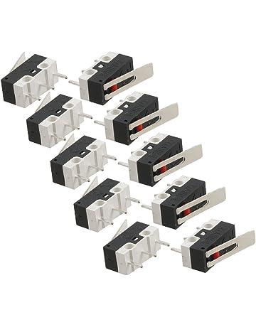 Interruptor - SODIAL(R) 10pzs AC 125V 1A SPDT 1NO 1NC Interruptormicro de palanca