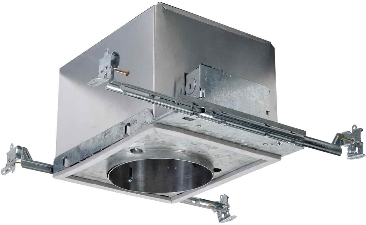 Halo Recessed H280ELICAT 120-Volt to 277-Volt 6-Inch Housing Compact Fluorescent IC Air-Tite 18-Watt Electronic HPF Ballast Lamp Included