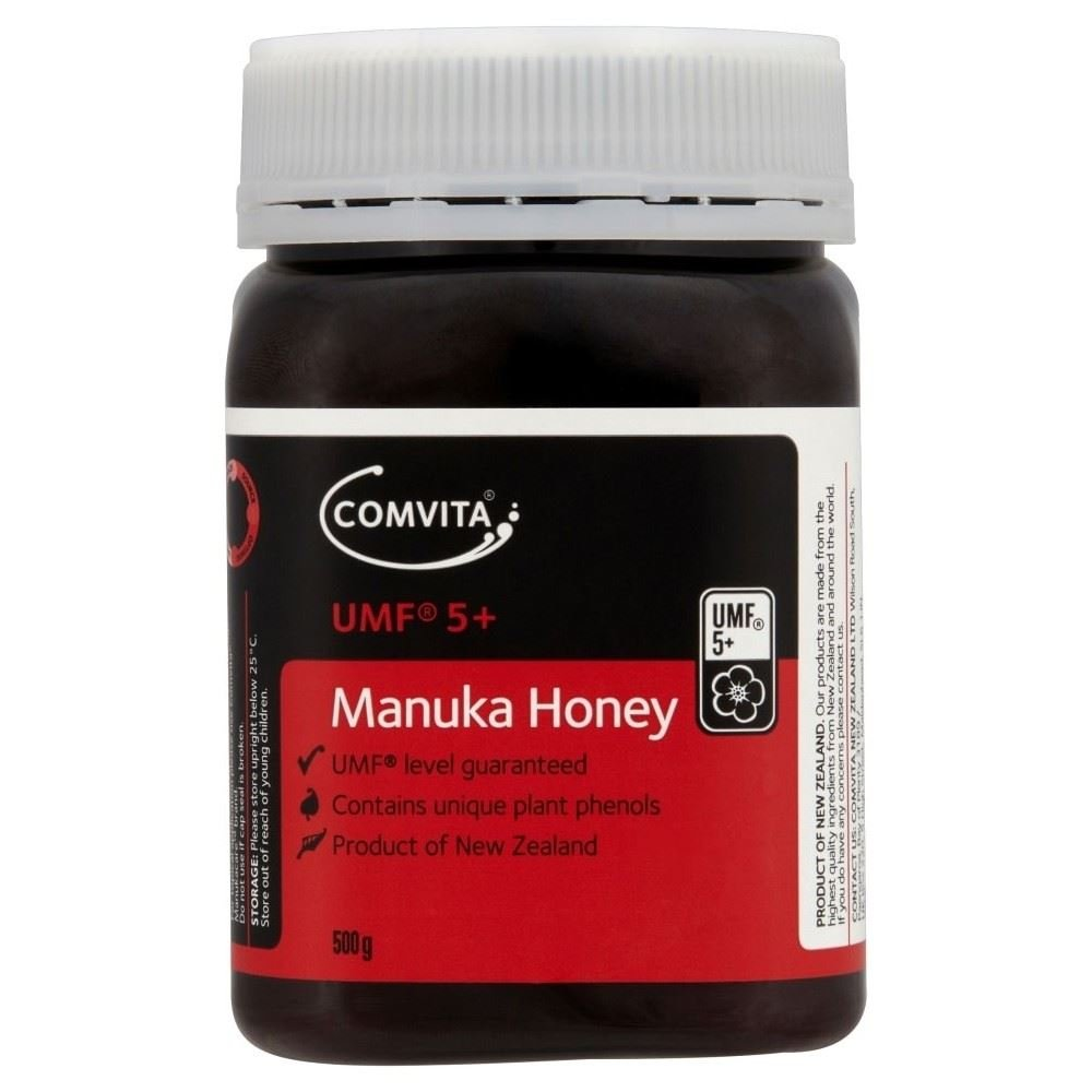 Comvita Active 5+ Manuka New Zealand Honey (500g) - Pack of 6