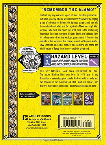Alamo All-Stars (Nathan Hale's Hazardous Tales #6) by Amulet Books (Image #1)