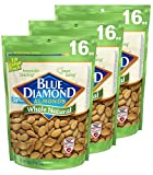 Blue Diamond Almonds, Whole Natural, 16 Ounce (Pack of 3)