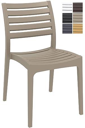 Chaise Plastique Ares De Jardin D'extérieure En Clp bf76ygY