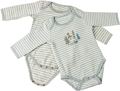 Body de algodón orgánico para bebé – Mono de manga larga para ...