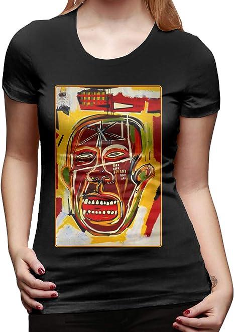Jean-Michel Basquiat Crown Abstract t shirt Funny Vintage Gift Men Women