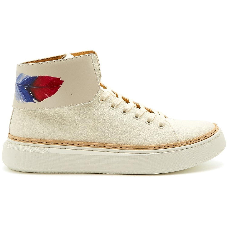 (ブシェミ) Buscemi メンズ シューズ靴 スニーカー 90mm Crepone high-top leather trainers [並行輸入品] B079GN1Z17