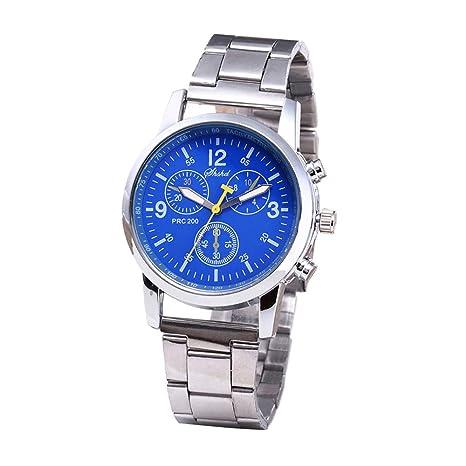 Beisoug La Mejor Moda Reloj de Pulsera analógico de Cuarzo Neutral Reloj de