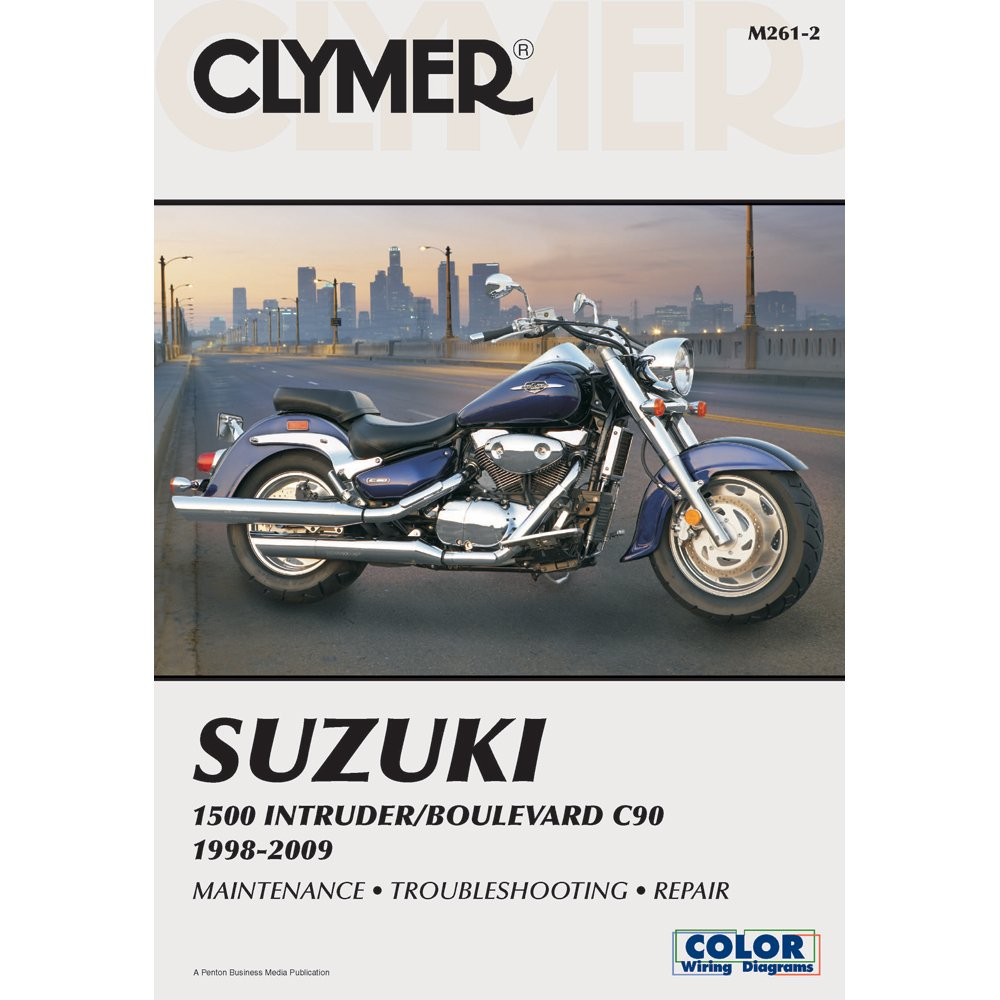 amazon com clymer suzuki 1500 intruder boulevard c90 1998 2009 rh amazon com Harley-Davidson Motorcycle Wiring Diagrams Suzuki GS 1000 Wiring Diagram