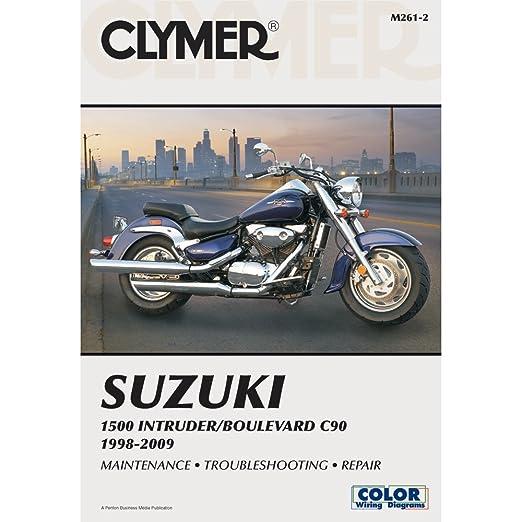 amazon com clymer suzuki 1500 intruder boulevard c90 1998 2009 rh amazon com First Suzuki Motorcycles Suzuki Boulevard M90 Accessories