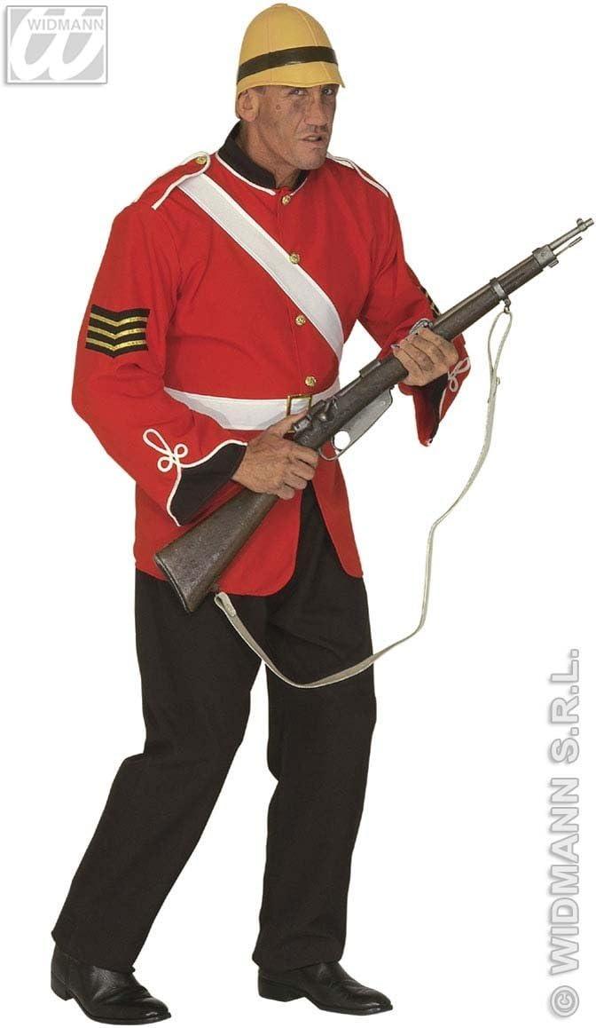 Disfraz de soldado inglés para hombre: Amazon.es: Juguetes y juegos
