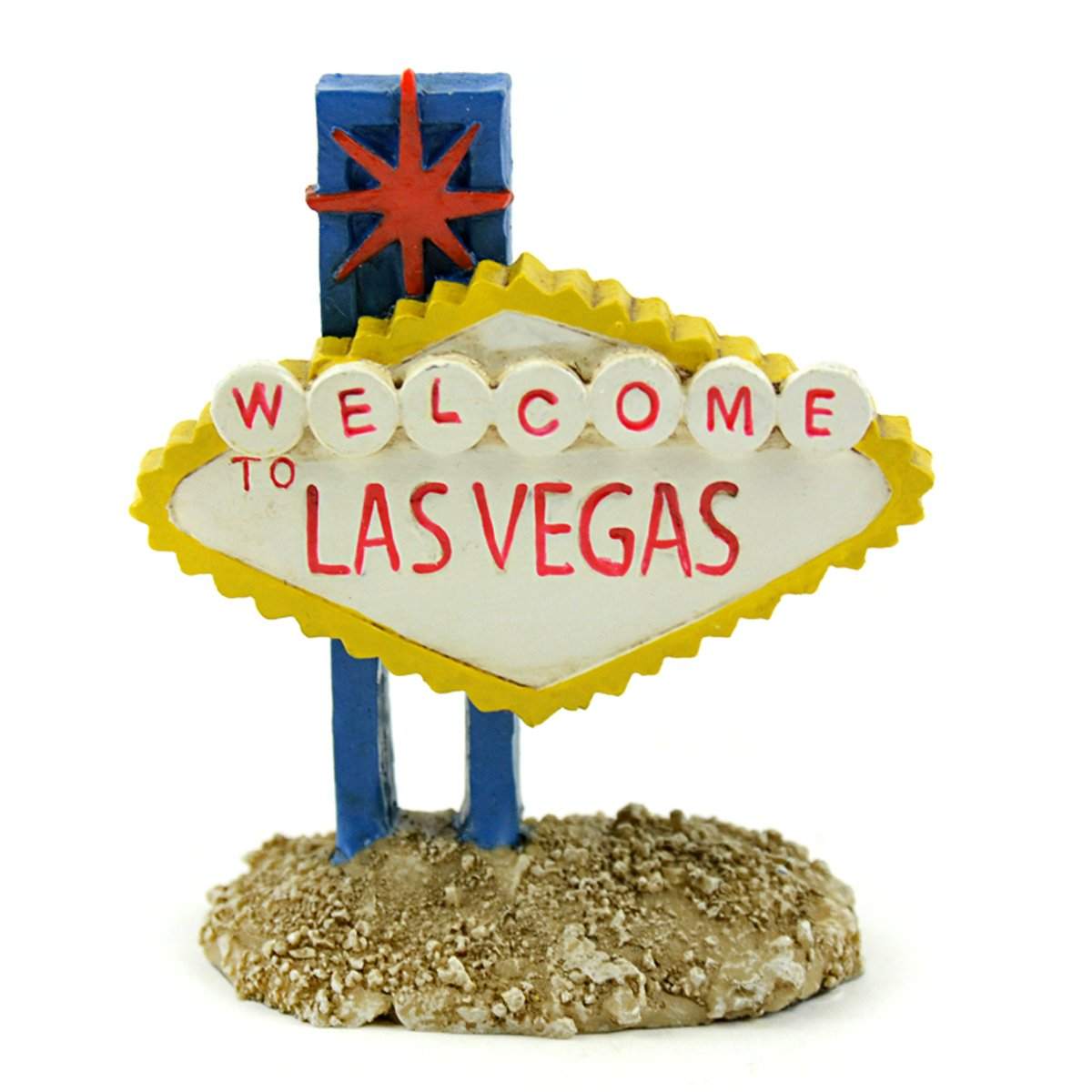 Fairy Garden Sets in Resin with Fine Detailing (Welcome to Las Vegas Sign Camper and Gnomes) by Clever Home (Image #4)