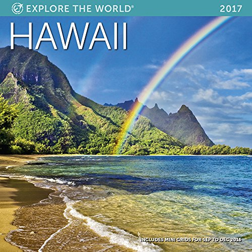 Hawaii Wall Calendar 2017