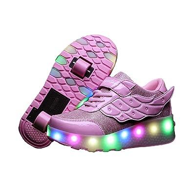 Amazon.com: AIkuass - Zapatillas de patinaje con ruedas para ...