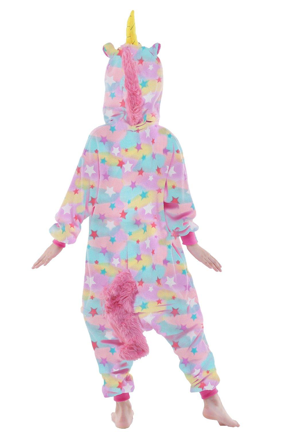 NEWCOSPLAY Cartoon Christmas Costumes Unisex Kids Unicorn Pajamas Gifts (115, color unicorn) by NEWCOSPLAY (Image #3)