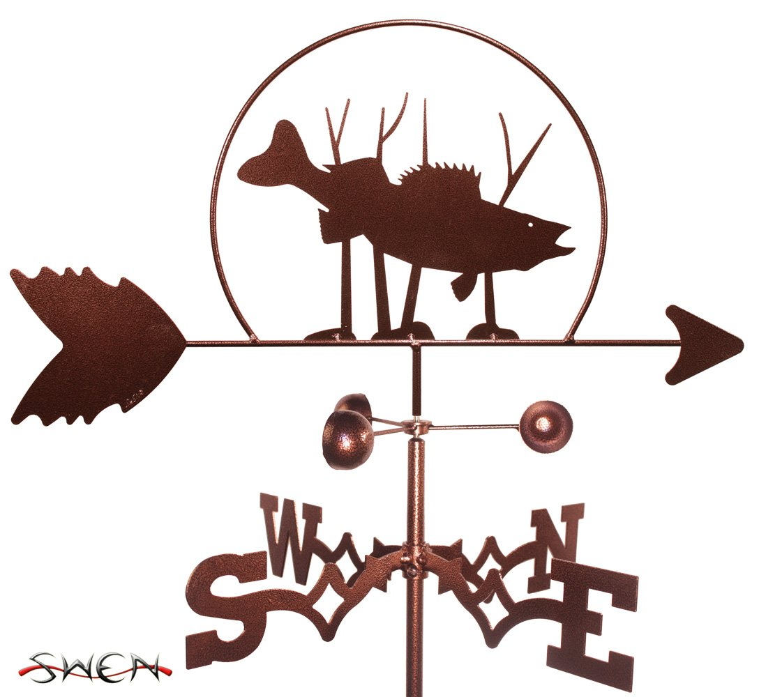 FISH - WALLEYE Weathervane