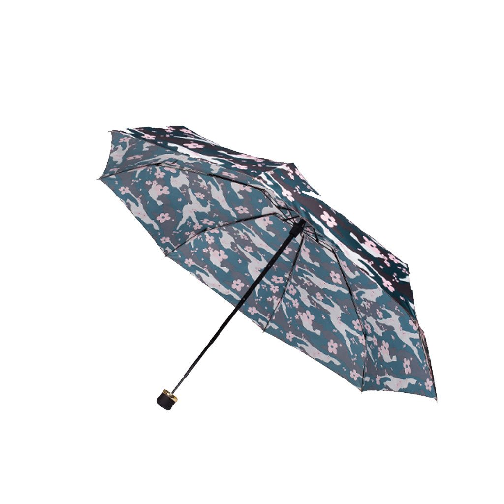 Teng Peng- Compact Travel Umbrella- Fashionable Portable Parasol Folding Umbrella Sun Shade Anti-uv Fast Drying Windproof Travel Umbrella for Women Household Umbrella (Color : 1)