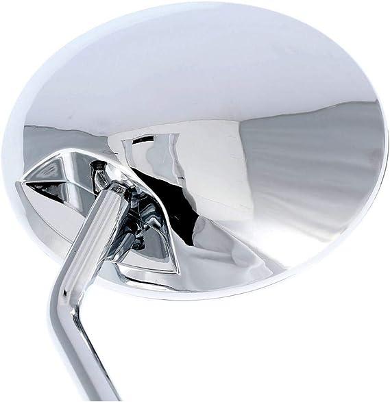 Eao Set 2 Spiegel Ø110mm Komplett In Chrom Für Simson S50 S51 S70 Kr51 2 Schwalbe Sr50 Sr80 U A Auto