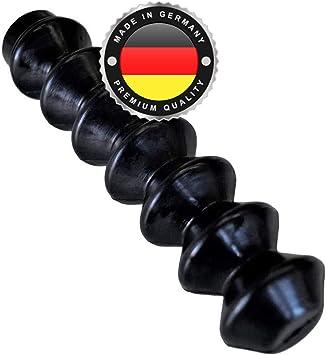 Ws System 2x Universal Faltenbalg Aus Gummi 2 Stk Flexible Dehnbare Achsmanschette Made In Germany Aus Hochwertigem Pvc Schelle In Größe L 180mm 65mm Ø 4 Mm Ø26mm Auto