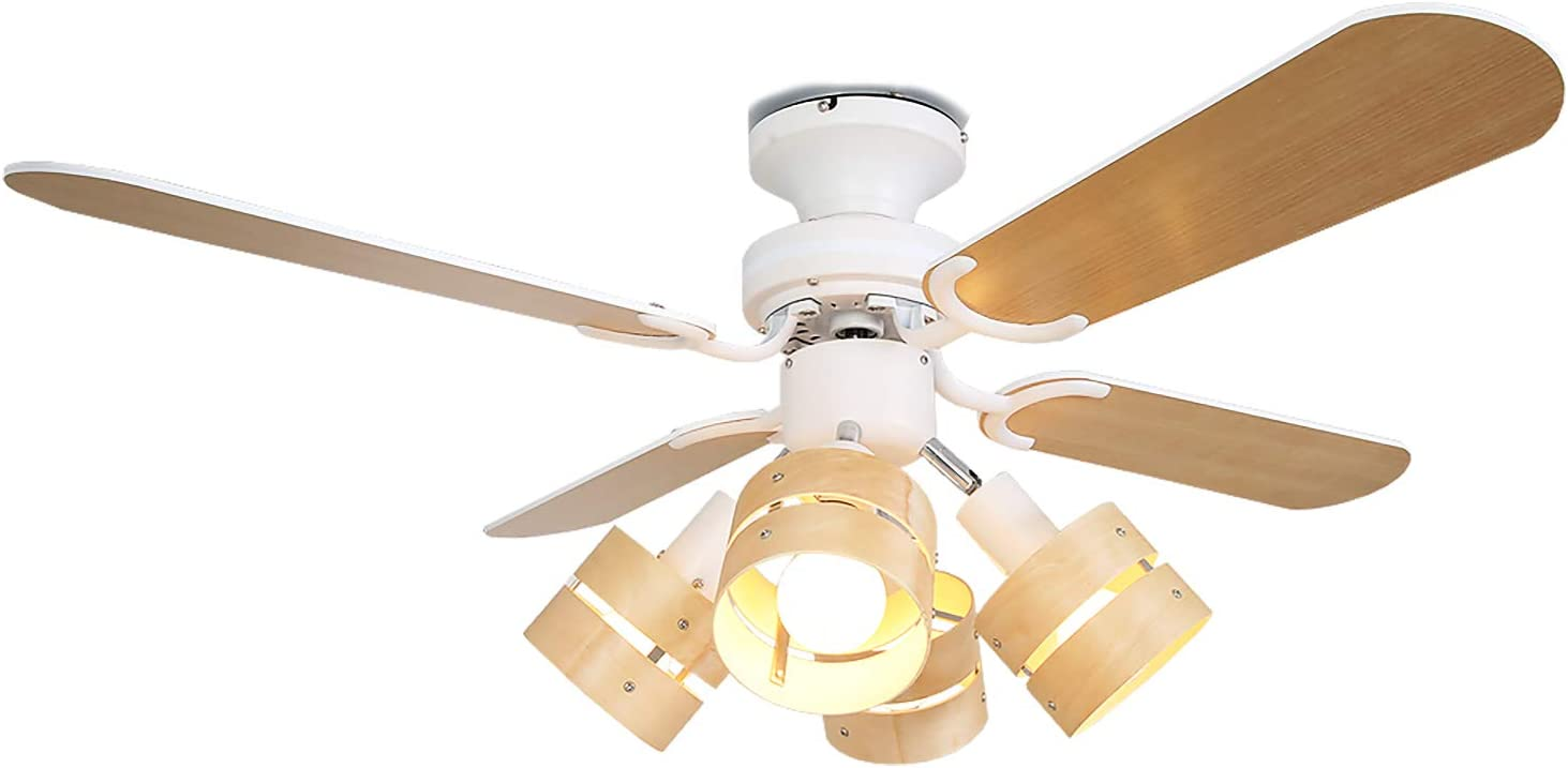 シーリングファン LED リバーシブル ナチュラル ホワイト(LOWYA)