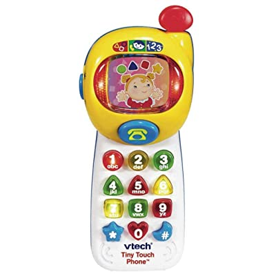 VTech Tiny Touch Phone: Toys & Games