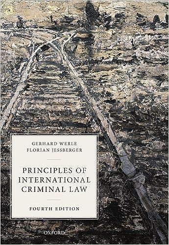 Principles of International Criminal Law, 4th Edition - Original PDF