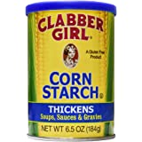 Clabber Girl Corn Starch, 6.5 Ounce
