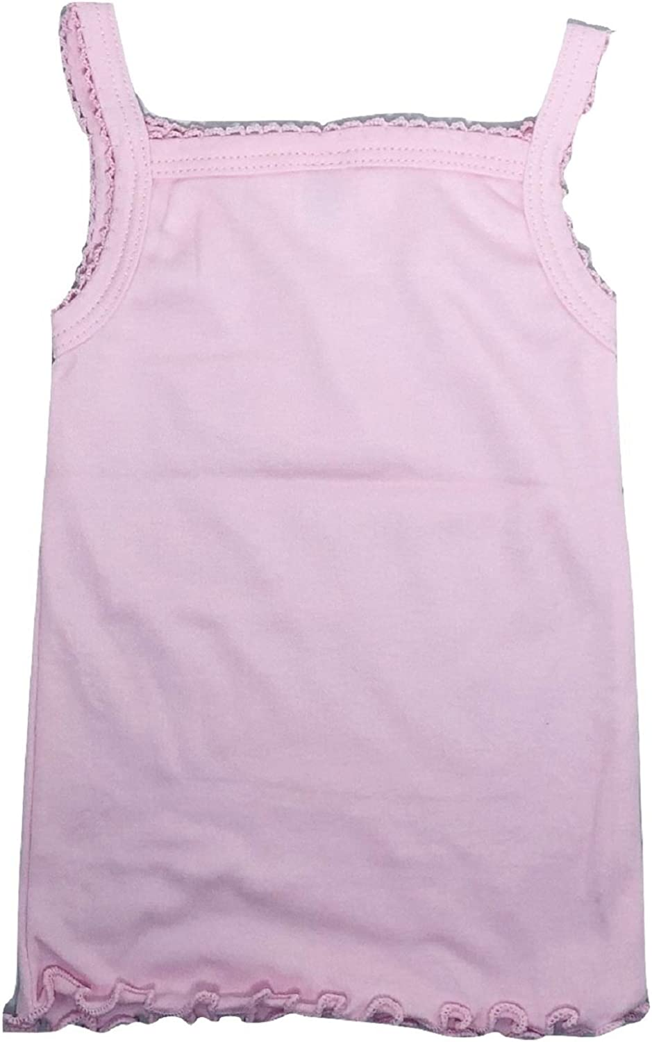 4 Pack 14, Pastel Colors I/&S Girls 4 Pack Soft Cotton Cami Spaghetti Strap Tank Tops Undershirts