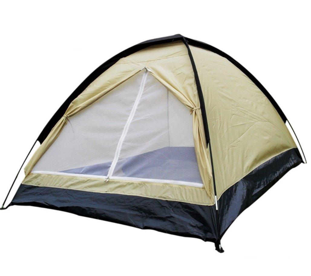 Outdoor Camping Tearproof Doppel Doppel Einzel Regenproof Outdoor Camping Park Freizeit Zelt ZXCV