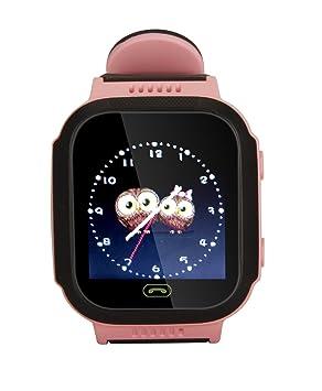 Rastreador Niños GPS, Reloj Inteligente,Reloj Niño Gps,Reloj ...
