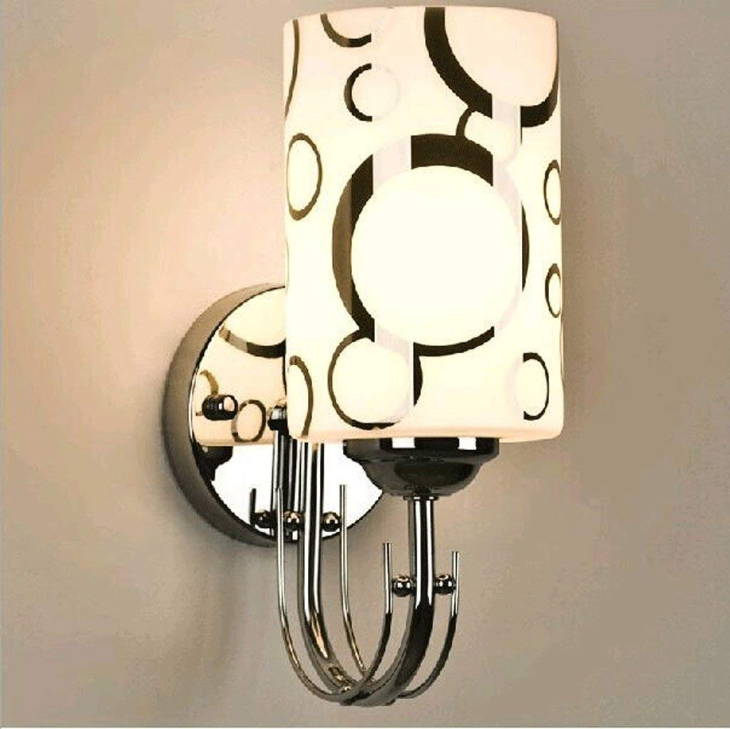 Weiß-2610cm Oudan Lounge Das Schlafzimmer Nachttischlampe Walking Corridor Lights Hotelzimmer Wandleuchte (3-W-Lampe) (Farbe  Know-26  10 cm). (Farbe   Weiß-26  10cm)