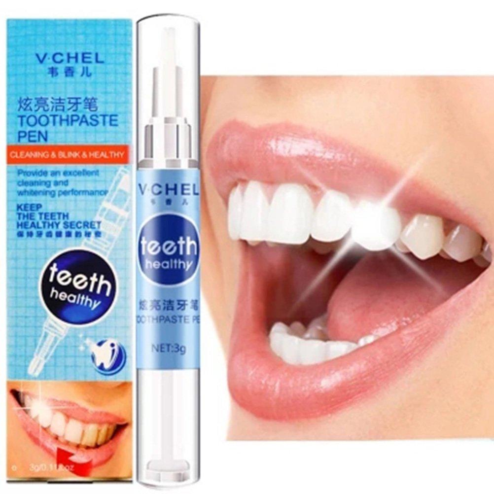 Lurrose denti Instant sbiancamento penna Best gel sbiancante denti e refill
