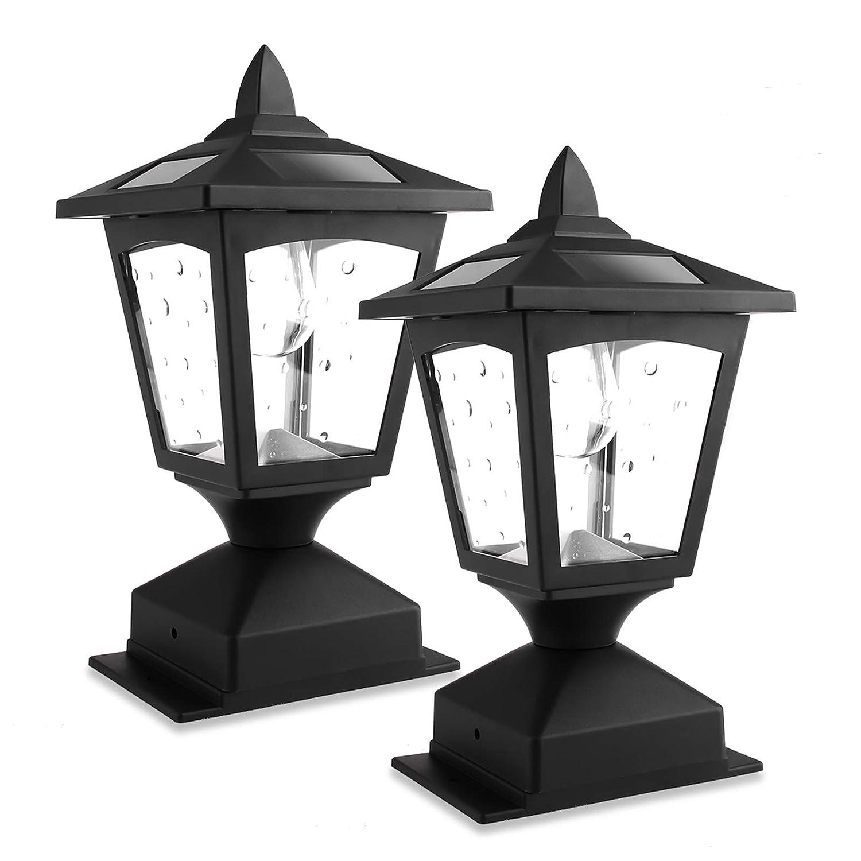 New Solar Post Lights - Outdoor and Solar Lamp Post Cap Lights