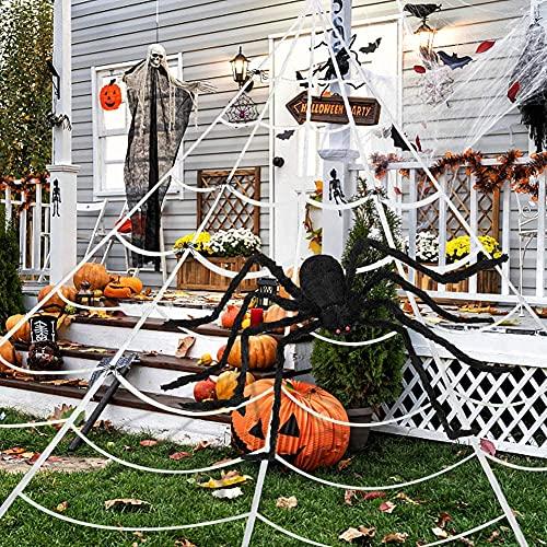 Giant Halloween Spider Decorations, Outdoor Halloween Decorations, 200