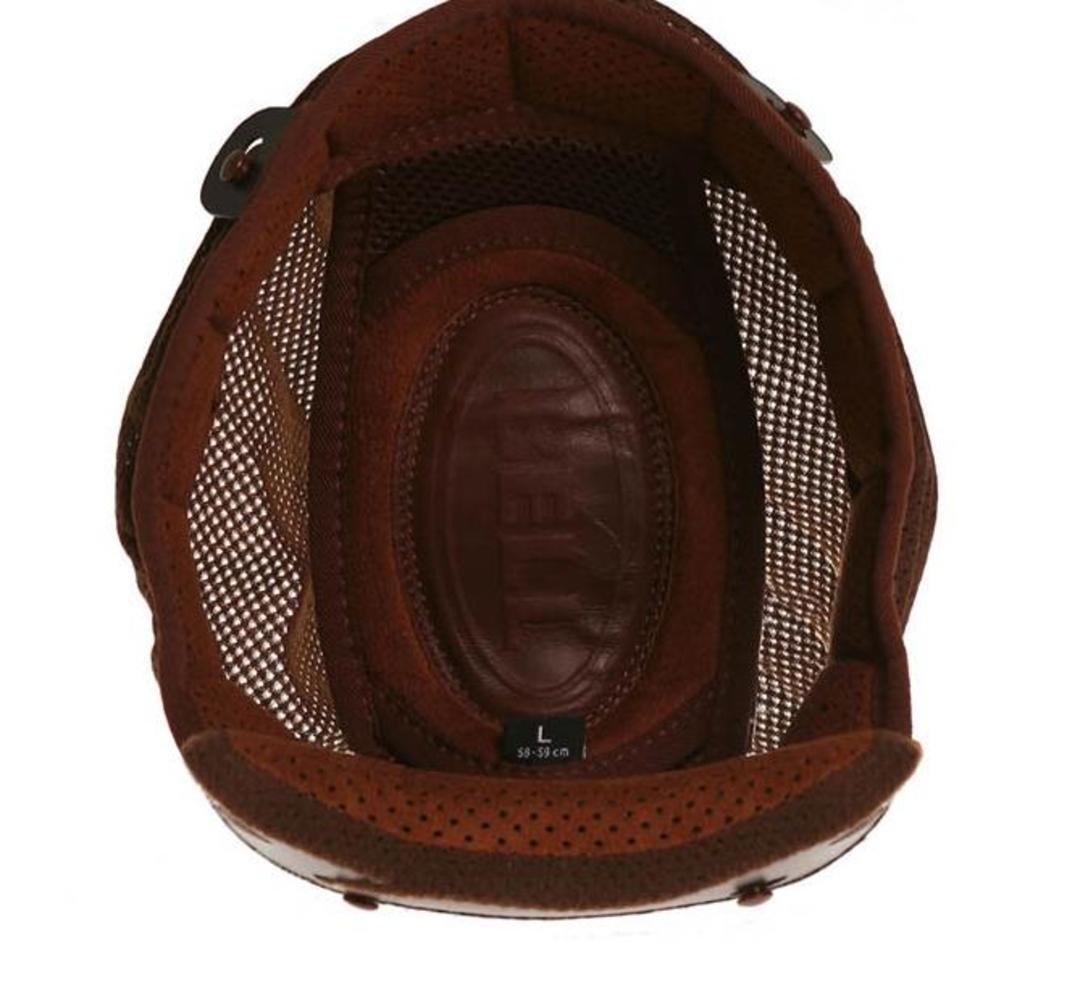 Bell Bullitt Top Liner Street Motorcycle Helmet Accessories - Brown/Large 8013404