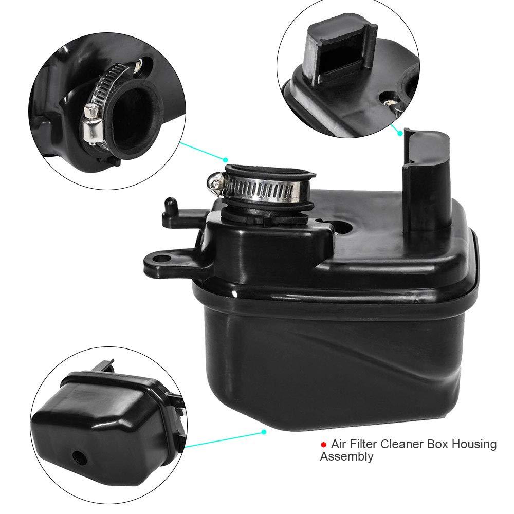 Brake Throttle Housing Lever Assembly for Yamaha PW50 Homyl Black Fuel Tank Cap