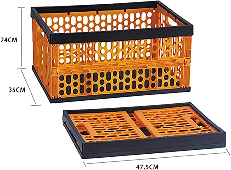 Organizador Del Coche Envase Plegable Multifuncional Caja Plegable Muebles Organizadores Para Almacenamiento Plástico Cesto Apilables Cajas Almacenaje Ordenación Portátil: Amazon.es: Hogar