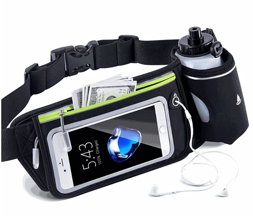 Hiking Waistpacks With Water Bottle Holder, Waterproof Belt Pouch For Walking Running Jogging Cycling Camping Climbing Outdoor Sports Sima Palace